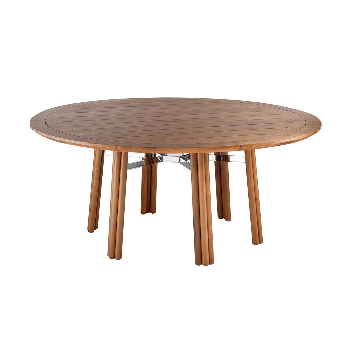Round dining table Maxim Braid