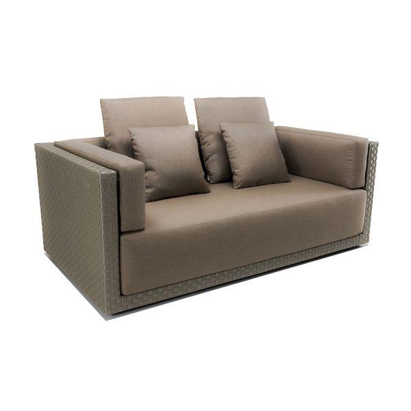 Set 2 cuscini piccoli per divano 2 posti - Braid