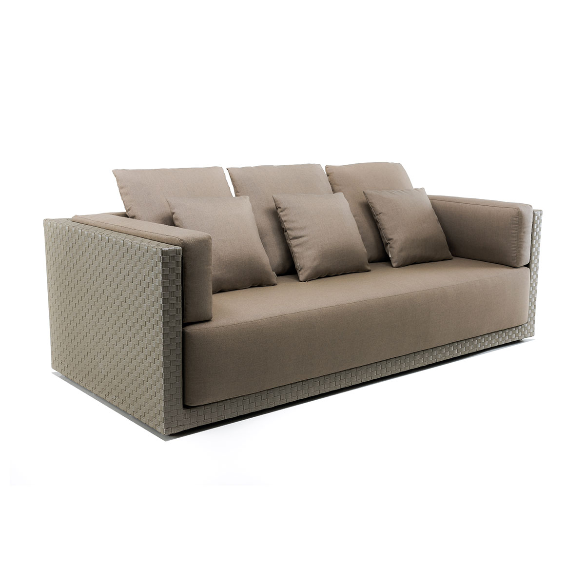 3 seated sofa Zoe Braid