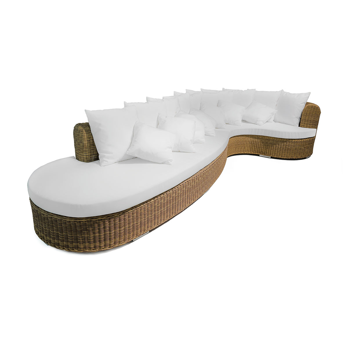 Circular sofa Cloe Braid