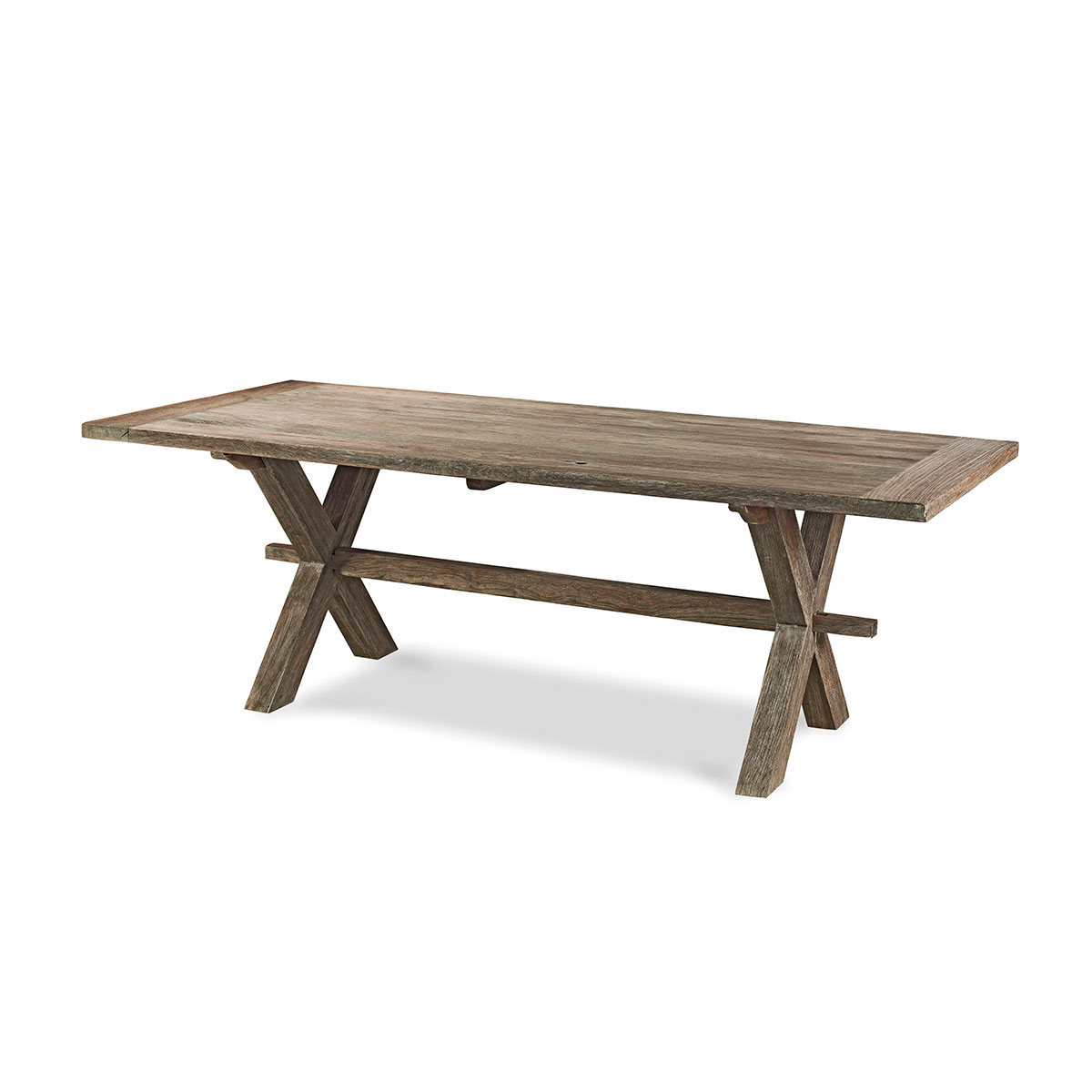 Rectangular wood dining table Cloe Braid