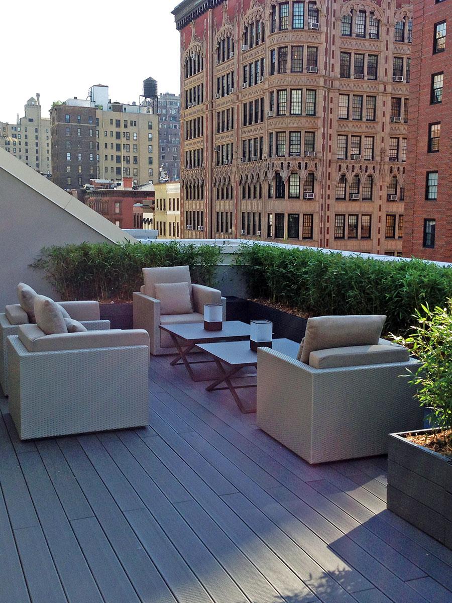 realizzazione Braid Armani New York
