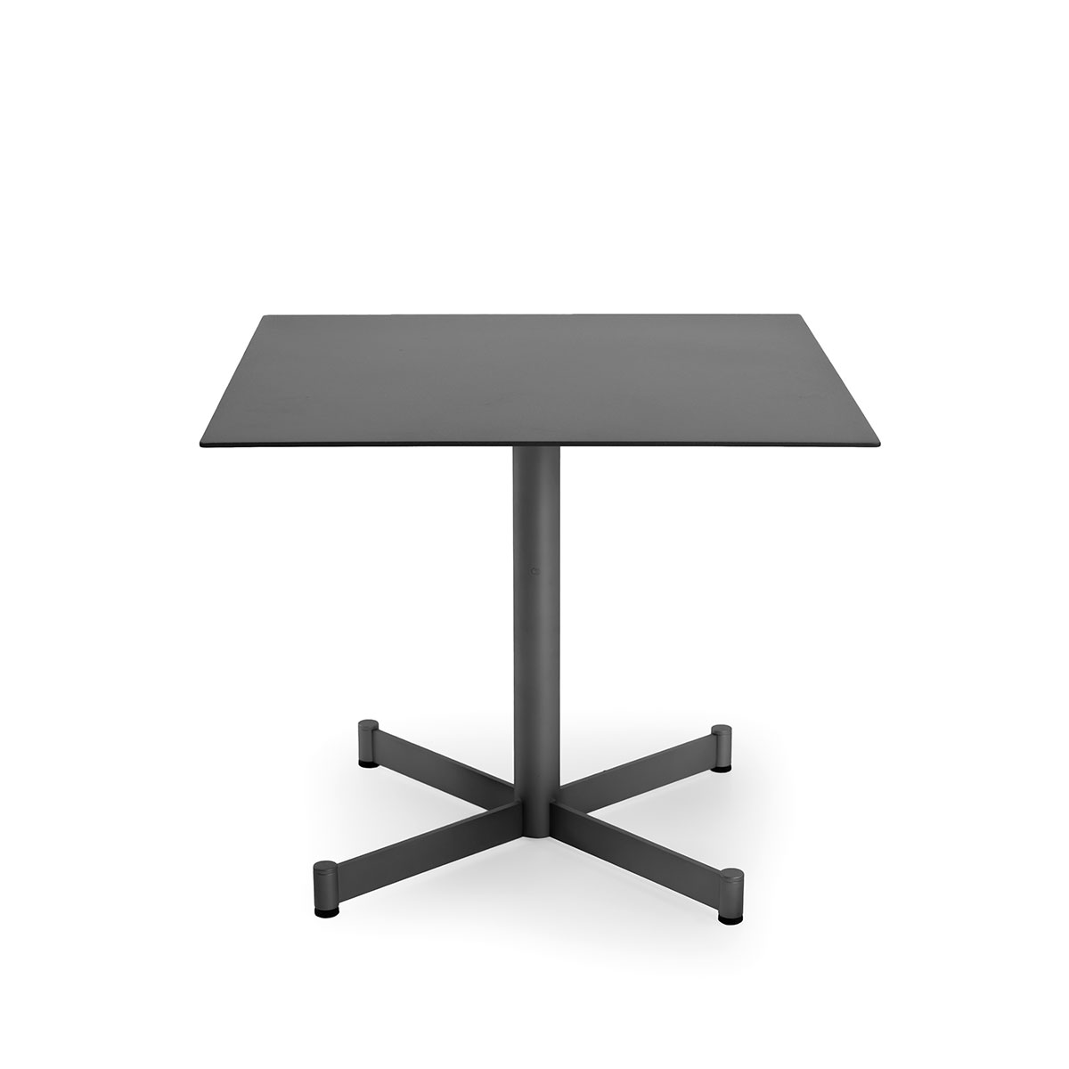 Square side table Teodora Braid