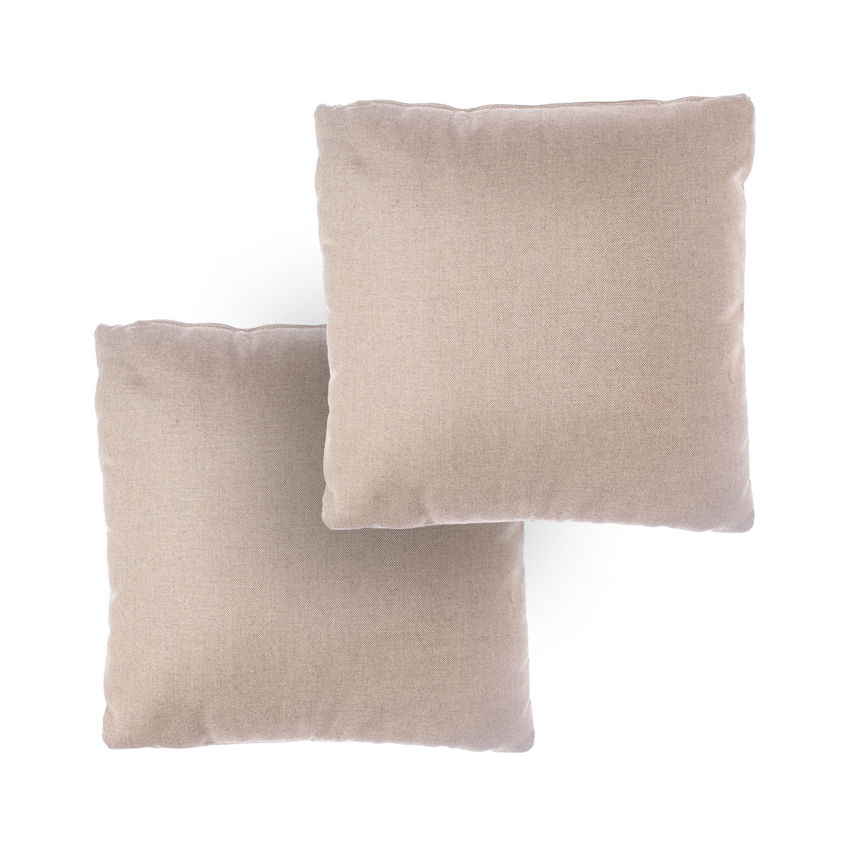 Set of 2 small cushions for 2-seater sofa Zoe Braid